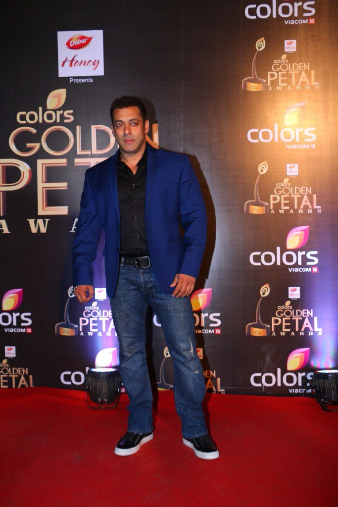 Salman Khan at Golden Petal Awards 2016, GPA 2016 image-Photo