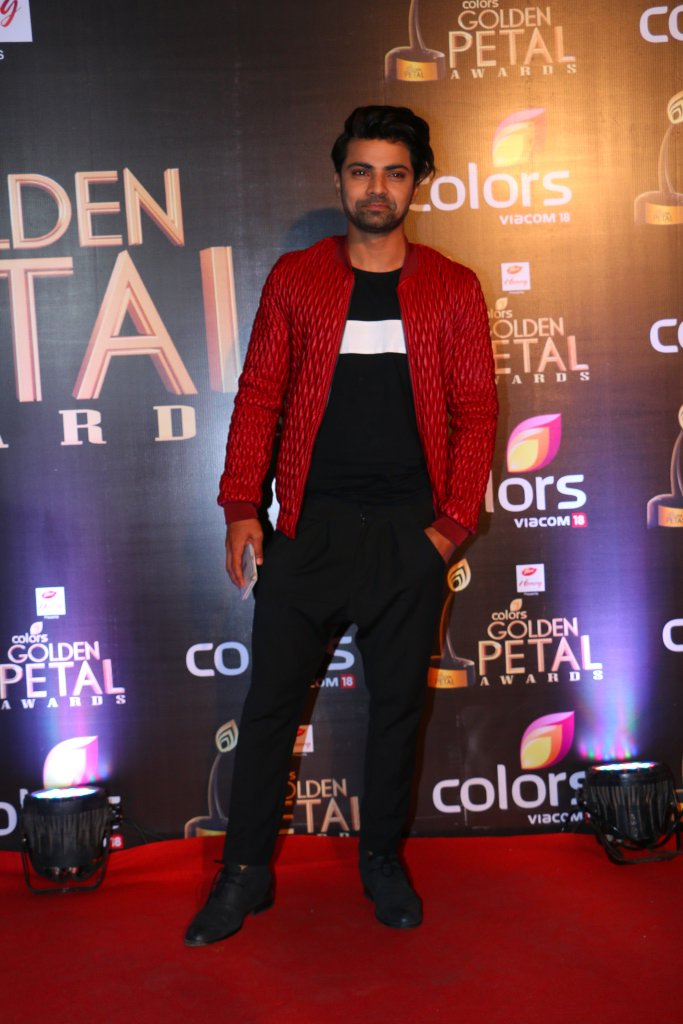 Shravan Reddy aka Aryan on Krishnadasi at Golden Petal Awards 2016 , GPA 2016 Images, Pictures