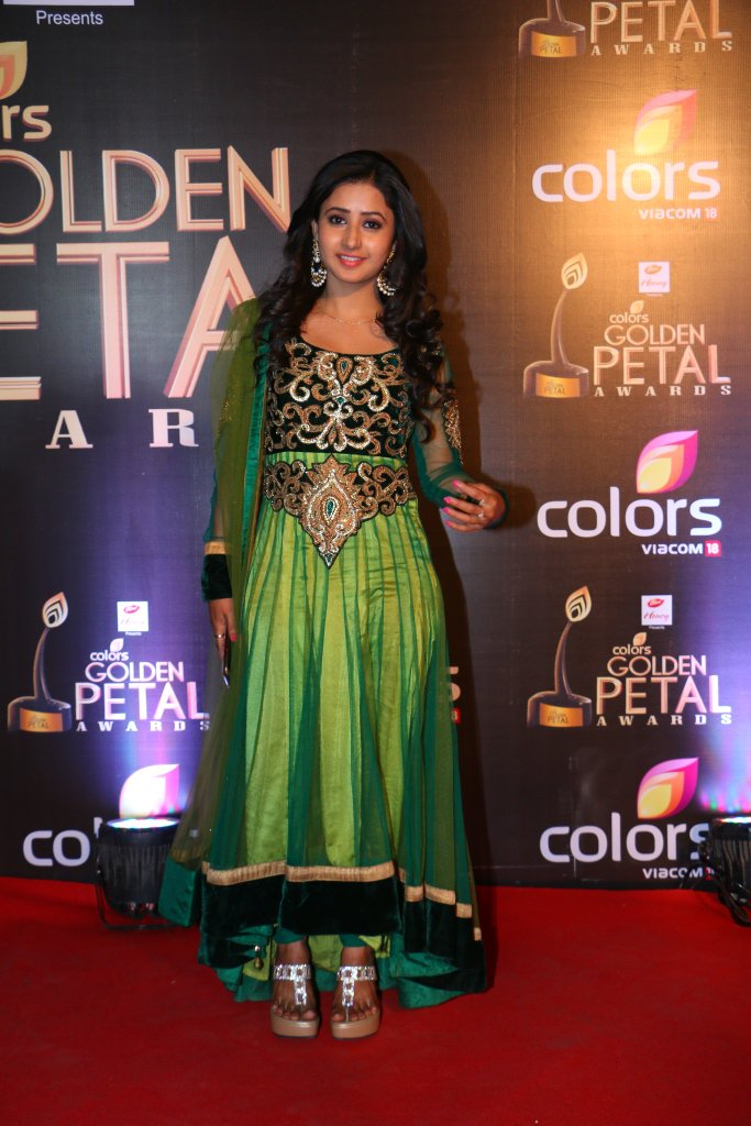 Sana Sheikh aka Aaradhya of Krishnadasi at Golden Petal Awards 2016, GPA 2016 image-picture