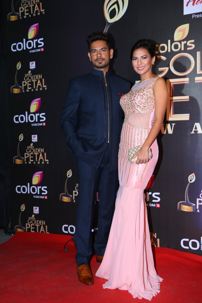 Keith Sequeira, Rochelle Rao Golden petal Awards 2016 GPA 2016 image-Photo
