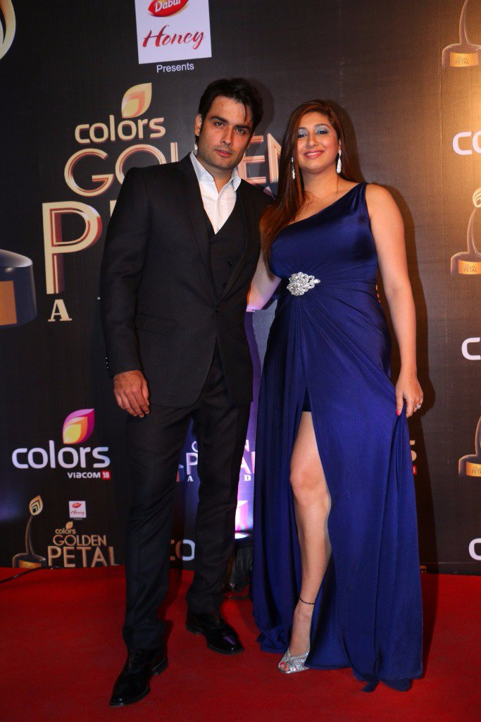 Vivian Desan and wife Vahbiz Dorabjee at Golden Petal Awards 2016 GPA 2016 Pictures Images