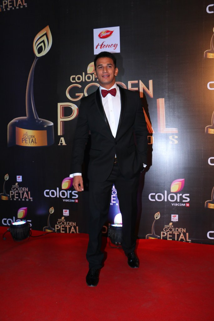 Prince Narula at Golden Petal Awards 2016