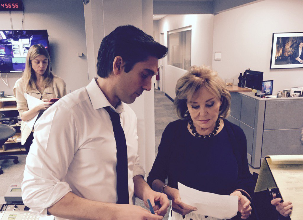 Huge thanks to @BarbaraJWalters for joining us to remember Nancy Reagan. #WorldNewsTonight https://t.co/JOsEqM1ADx