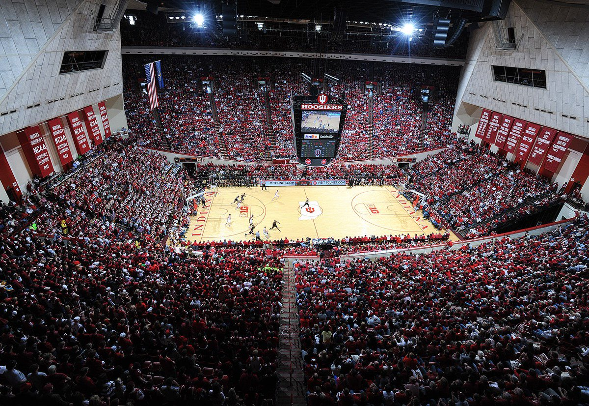 .@indianambb + @indianawbb = 31-0 in Assembly Hall this season  Thank you #HoosierNation