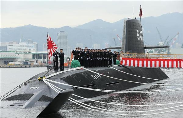 最新鋭の潜水艦「じんりゅう」引き渡し式 三菱重工神戸造船所 - 産経ニュース sankei.com/west/news/1603… @Sankei_newsさんから pic.twitter.com/fSDfWz6Z7G