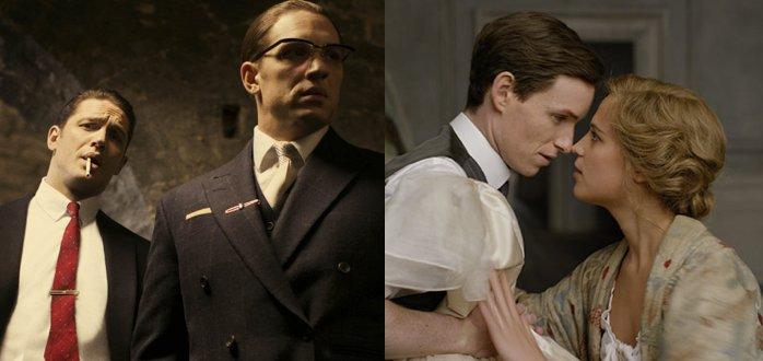 LISTEN: We Review Tom Hardy In #Legend & Eddie Redmayne, Alicia Vi...