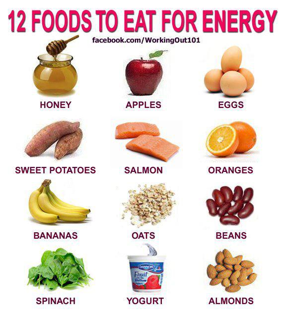 #FitFam #FitSpo here are 12 Foods To Eat For Energy! #Nutrition #Wellness<br>http://pic.twitter.com/2JvQzwzeib