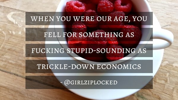 #millenials to #boomers - @girlziplocked https://t.co/rRpUAoFNB7 https://t.co/bYTd3uvRi5