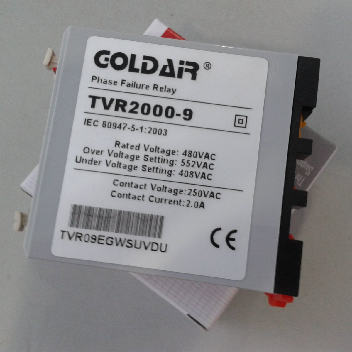 Goldair On Twitter Tvr2000 9 Failure Phase Relay 480vac15 Over Under Voltage Monitor Of Reversalphase Lossphase Unbalance Https Tco Vfn0yqkavt