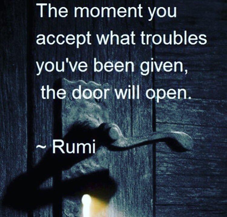 Nadine Tarabay On Twitter Good Morning Rumi Quotes Httpst
