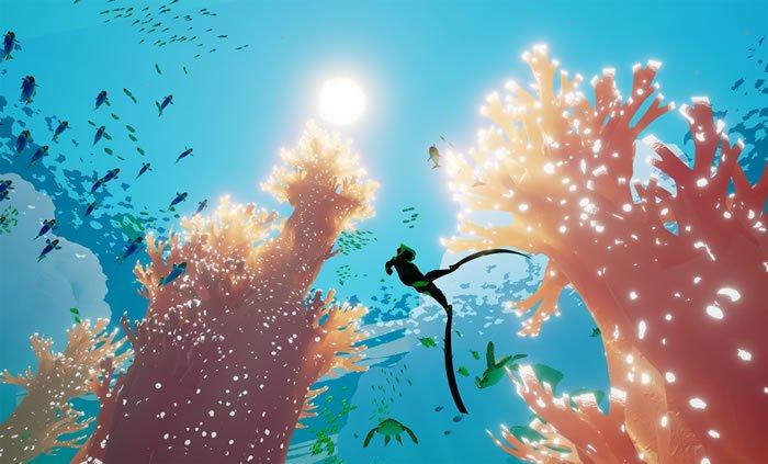 """""""風ノ旅ビト""""のMatt Nava氏が開発を率いる海洋アドベンチャー「Abzû」の新スクリーンショットが公開 - https://t.co/aOpSwYRVUn https://t.co/oyhSIf5Uow"""