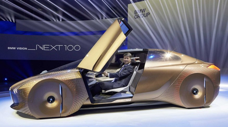 Vision Next 100, auto del Futuro BMW - FOTO e VIDEO