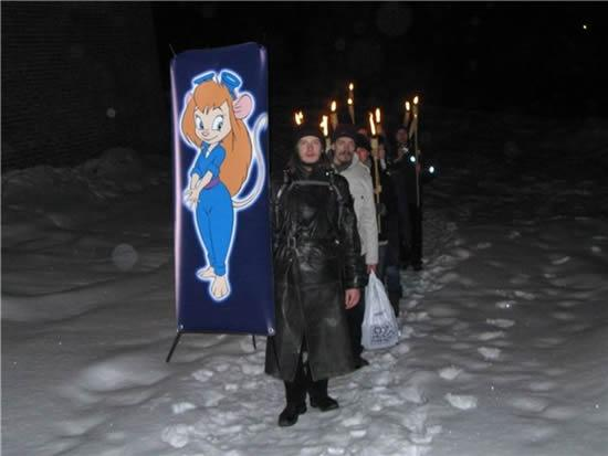 ロシアにはアニメ「チップとデール」に出てくる「ガジェット」という女の子を崇める宗教があるらしいが、想像以上にマジな香りがする