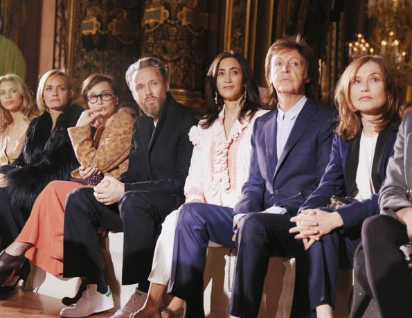 The Beatles Polska: Paul McCartney pojawił się na Paris Fashion Week