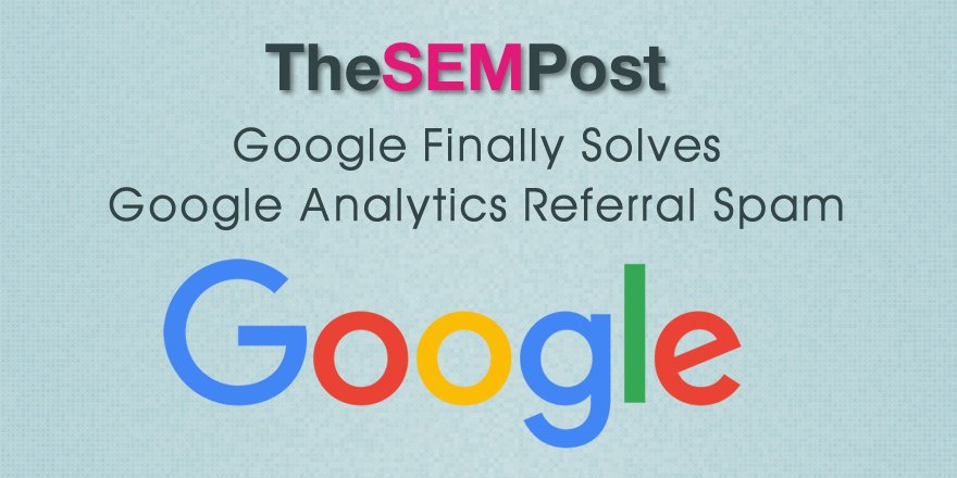 AMAZING NEWS -> Google Analytics Now Removes Referral Spam from Reports Automatically  https://t.co/r7FDmFVEA6 https://t.co/27CECfvzJu