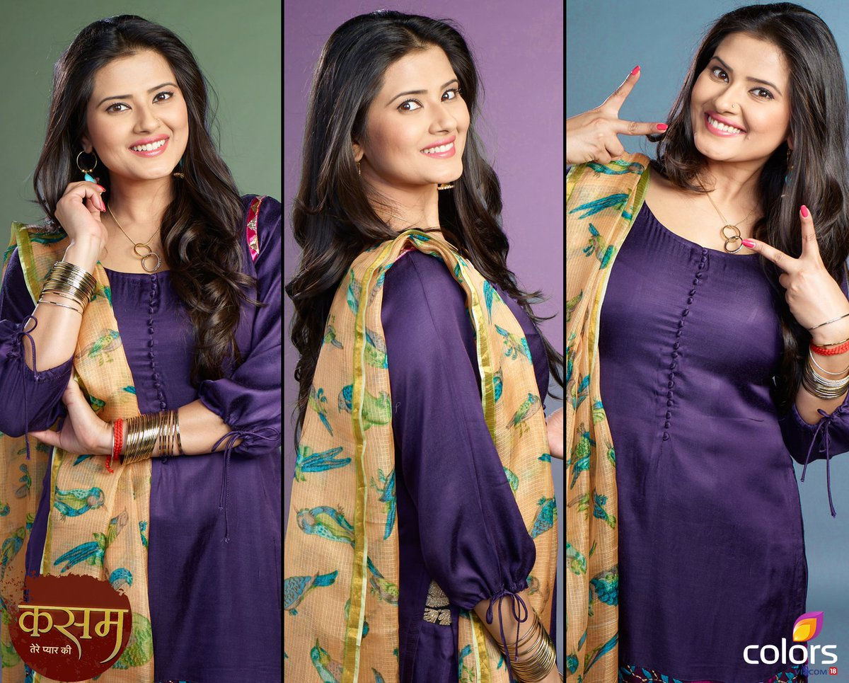 Kasam serial actress Tanu image, Kratika Sengar as Tanu in Kasam serial on Colors picture-photo