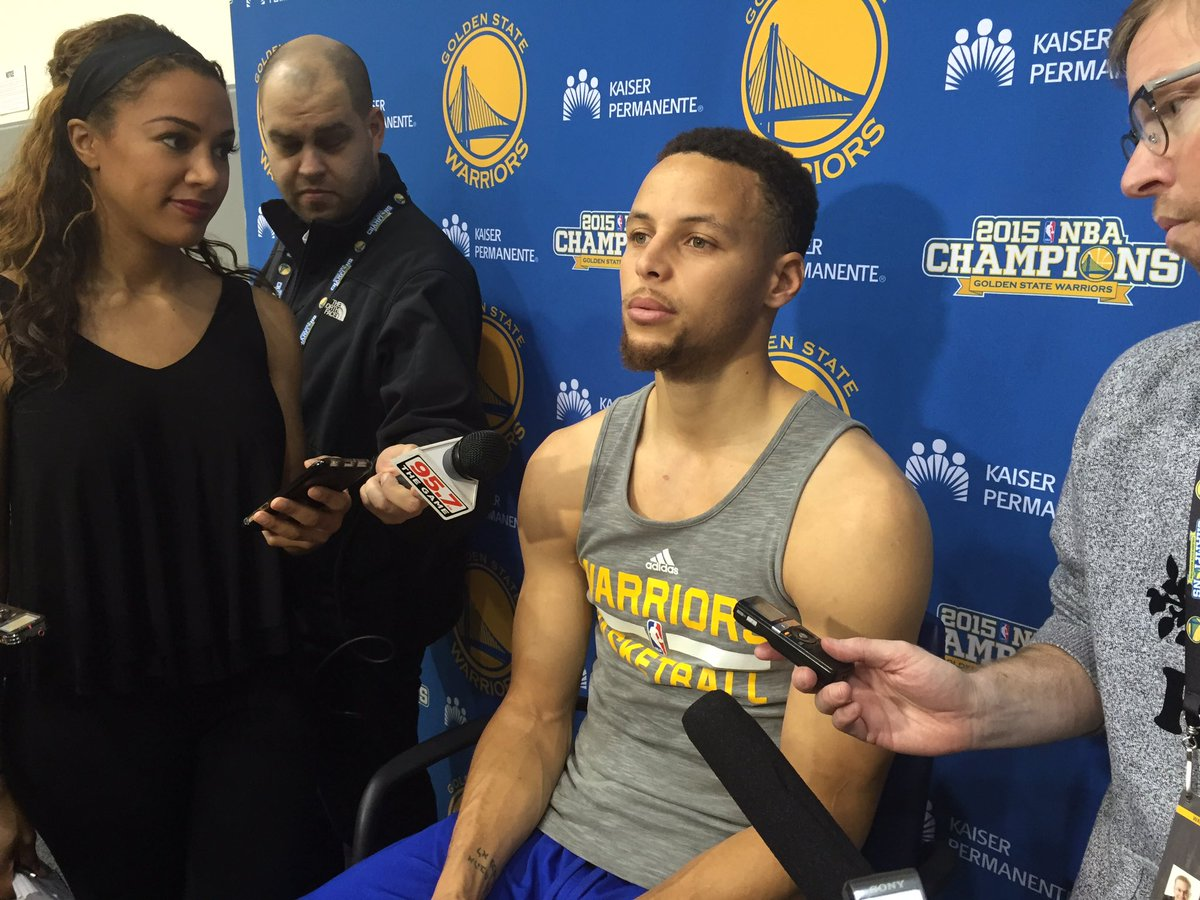 "Curry on what yesterday was like postgame: ""Like a funeral."" #GSWarriors https://t.co/heRZsGaREg"