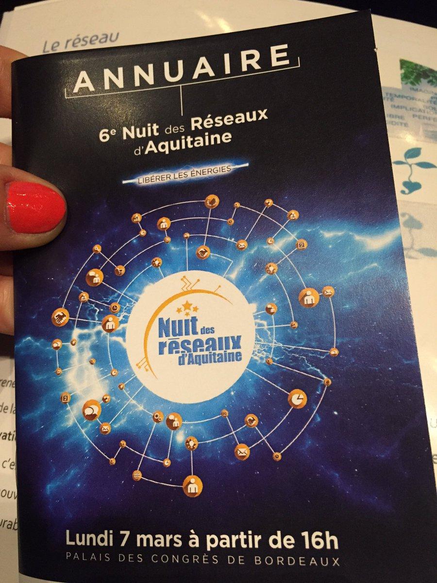 #NDRA2016 #EA2016 on est à la nuit des réseaux en #Aquitaine et vous ? https://t.co/w54nKsk53I