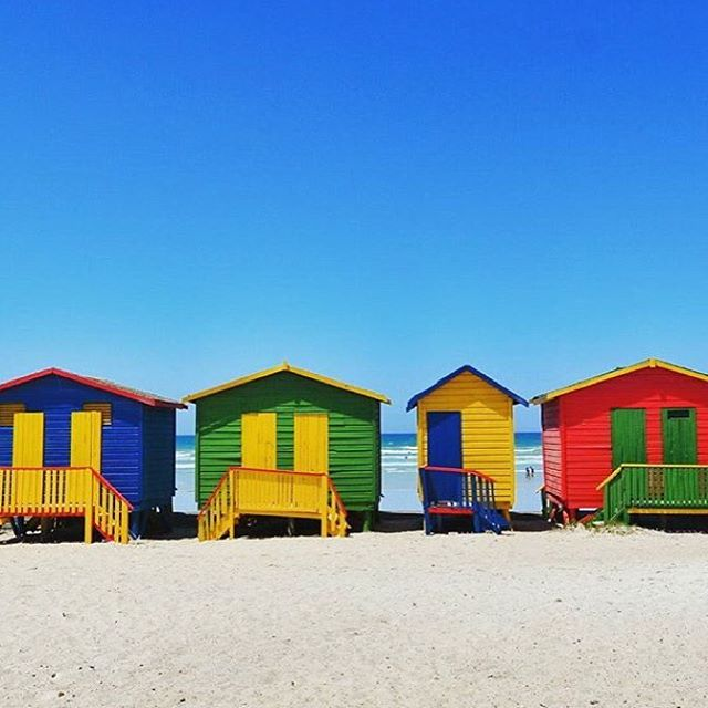 Visit South Africa On Twitter Muizenberg Beach Lookin Cool And - 9 things to see and do in muizenberg beach