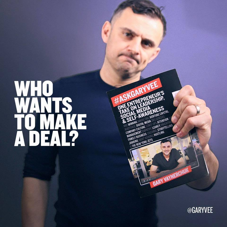 HEY @garyvee fans/entrepreneurs! Reserve your seat to the EXCLUSIVE #AskGaryVee #PHX event! https://t.co/XLaKJseHQ2 https://t.co/JuaexBt4gU