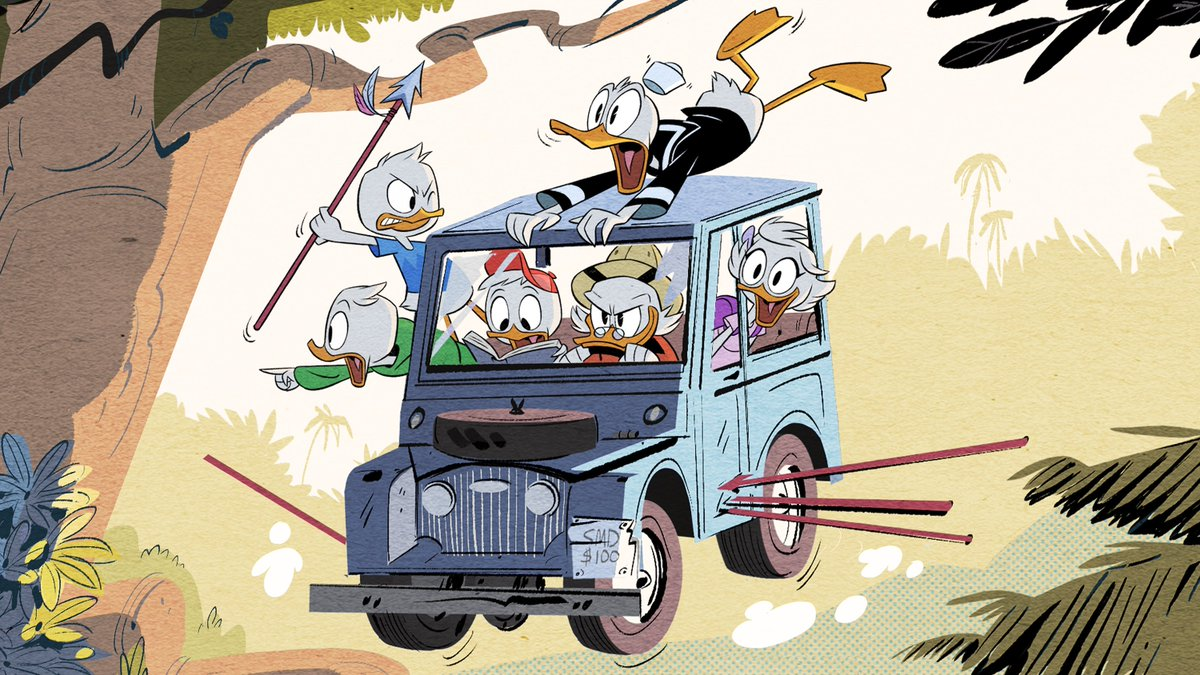 Woo-Hoo! Here's your first look at DuckTales - coming to @DisneyXD in 2017! https://t.co/ie0u3hDlNS