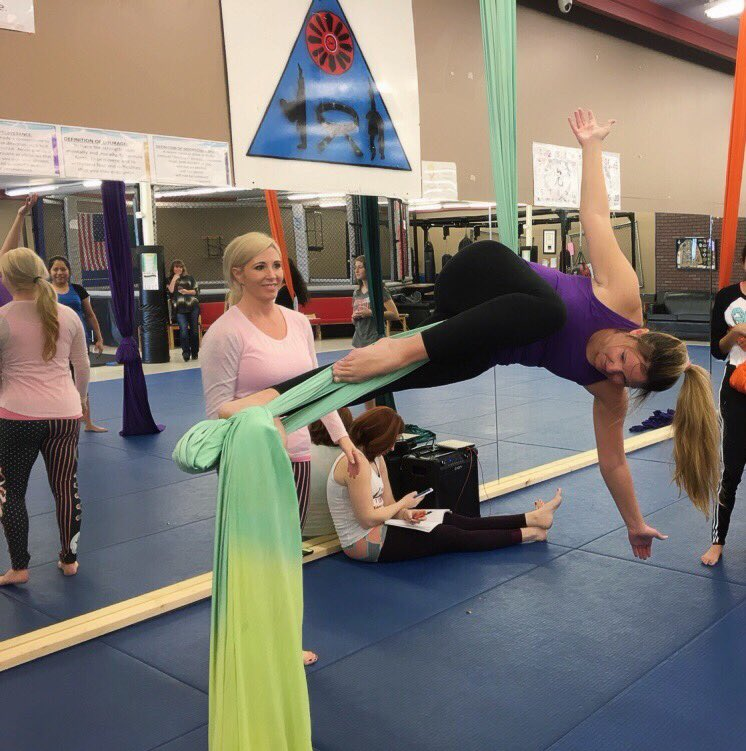 Curious about trying aerial yoga? Read this: https://t.co/s0Vccg1ohA https://t.co/2UQDpATqQr