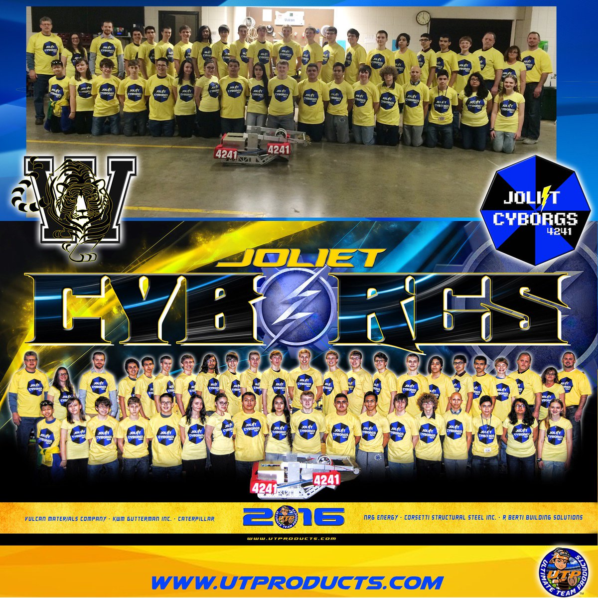 Ultimateteamproducts On Twitter Check Out This Robotics Team