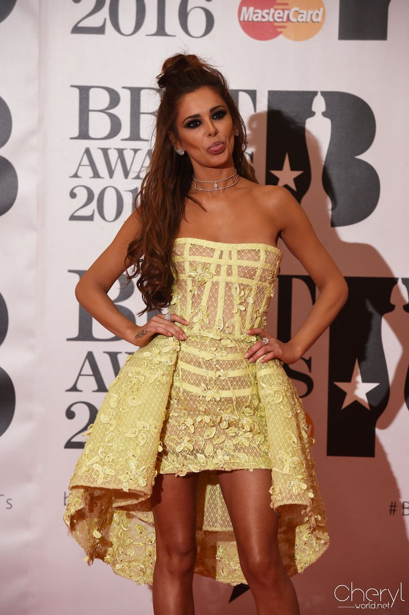 18 HQ photos of Cheryl at the BRIT Awards https://t.co/zEivYde0Ea #BRITs2016 https://t.co/MuuhjXqF0s