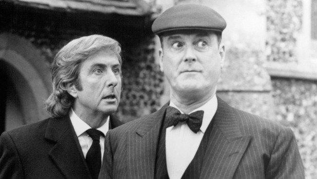 NOW: Monty Python legends @JohnCleese & @EricIdle on The Alan Jones Breakfast Show  LISTEN: https://t.co/Kz7WPJhLRR https://t.co/5J7Yoib5dG