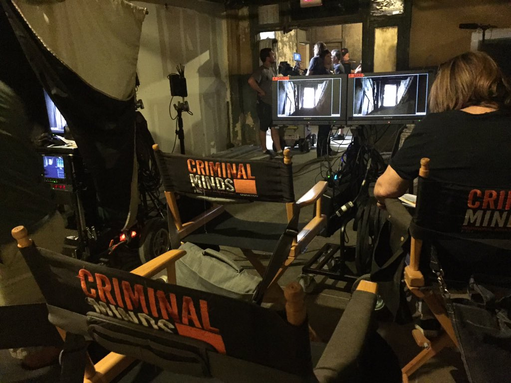 Setting Up For The Next Scene Creepy Basement Style #CriminalMinds  @CM_SetReport   Photo By Joseph Geisinger