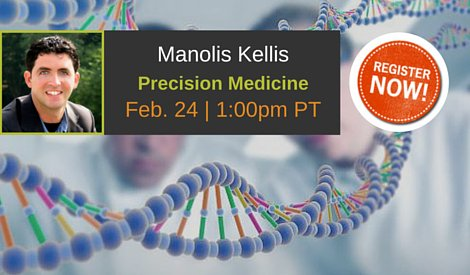 From #Genomics to #PrecisionMedicine with @manoliskellis #LRprecisionmed https://t.co/gFtvwyy00u https://t.co/yNJmIL1uvv
