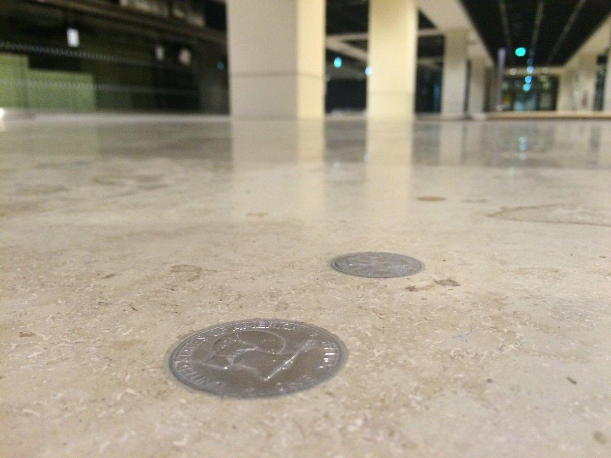 Fußboden Mit Münzen ~ Vase mit cent münzen verschönern frag mutti