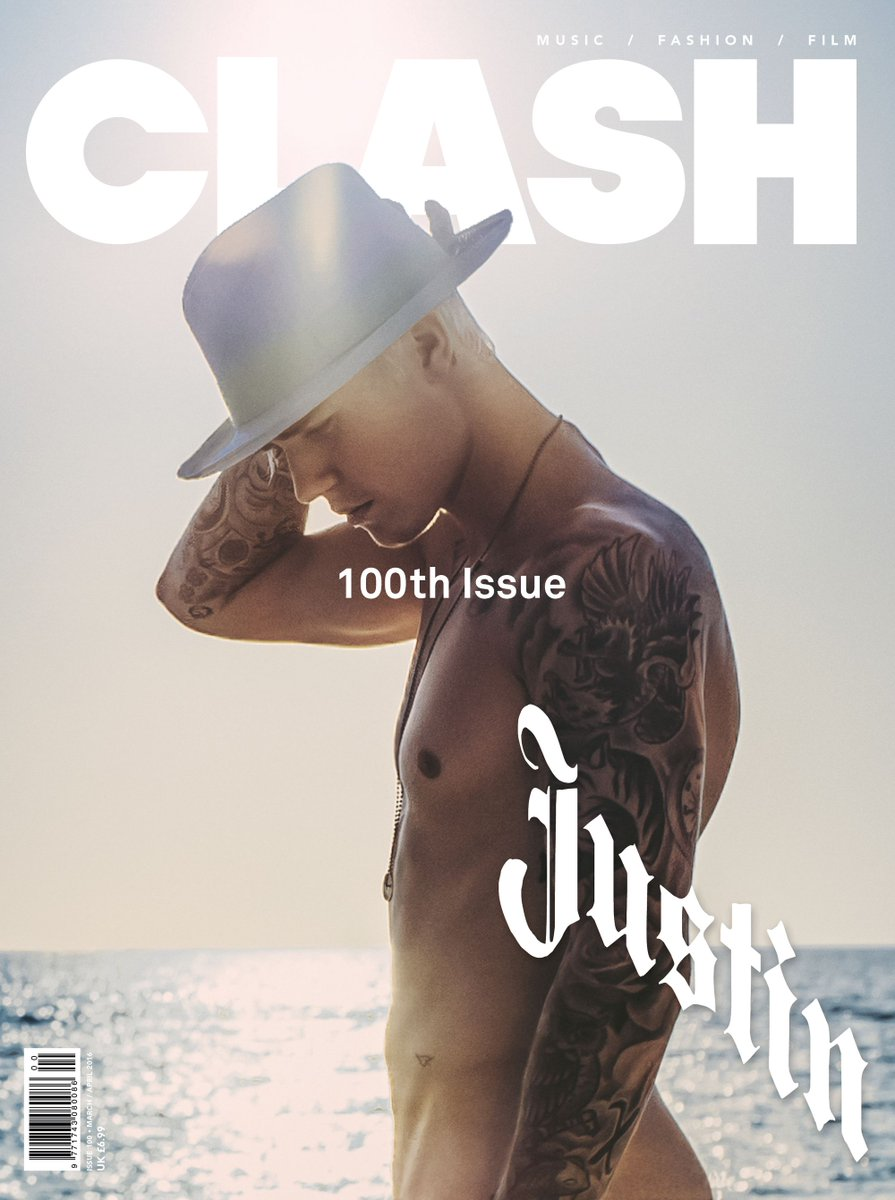 .@JustinBieber takes it all off for @clash_music #100. Ph: TBD.  Thx @Fashionights https://t.co/s8IfP1YTXk