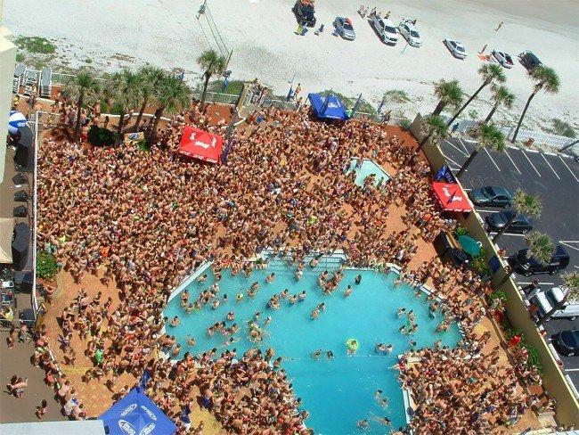 Hawaiian Inn Daytona Beach Spring Break The Best Beaches In World