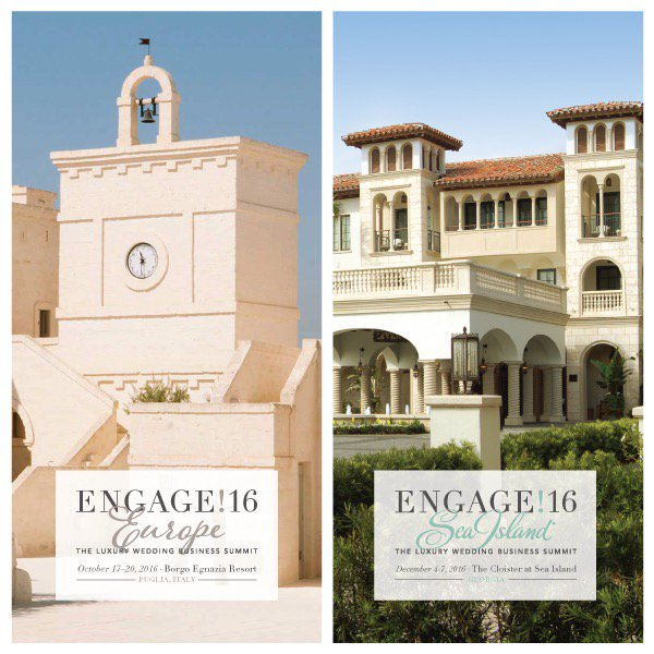 Excited to have announced the next two @engagesummits at @BorgoEgnazia in Puglia Italy + @SeaIslandResort #engage16 https://t.co/BI7GPcK5GF