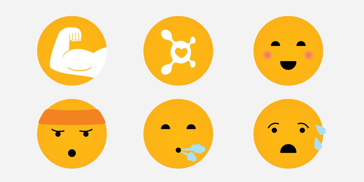 .@Facebook's new reactions are all fine and good, but here's a few more we thought #Orangetheory Nation could use! https://t.co/l1W4blQ9Uc