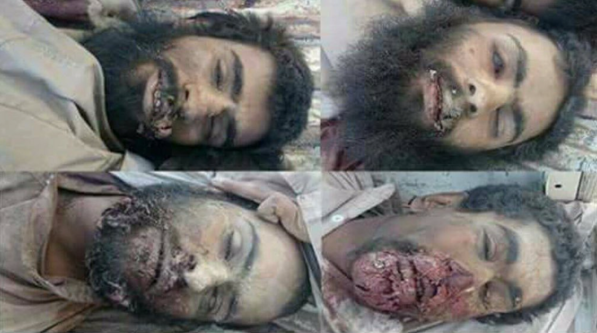 shah nawaz bugti on twitter mutilated dead bodies who were thrown