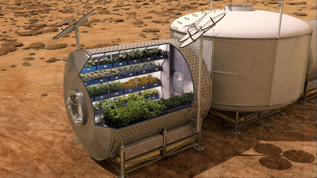 """Mom always said, """"eat your veggies."""" But on #Mars? New technologies may make it possible:"""