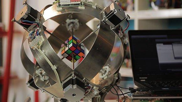 Cubo di Rubik risolto da Robot Sub1 con nuovo record mondiale VIDEO YouTube