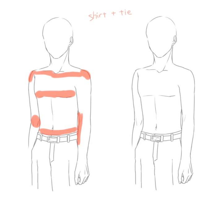スーツの描き方講座では、ワイシャツ・ジャケット・スラックスなどの描き方を解説しつつ実際に描いていきます!(*´∀`*) ビジネススーツを描こうと思っているかたはぜひ見てみてくださいね☆