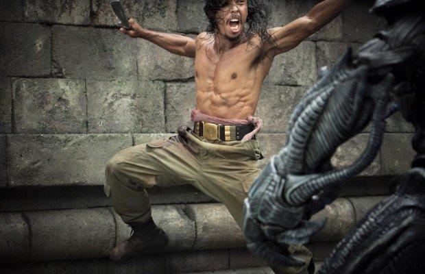 フランク・グリロ主演 『スカイライン -征服-』続編『Beyond Skyline』からヤヤン・ルヒアンの最新写真が公開!『ザ・レイド』からはイコ・ウワイスも参戦