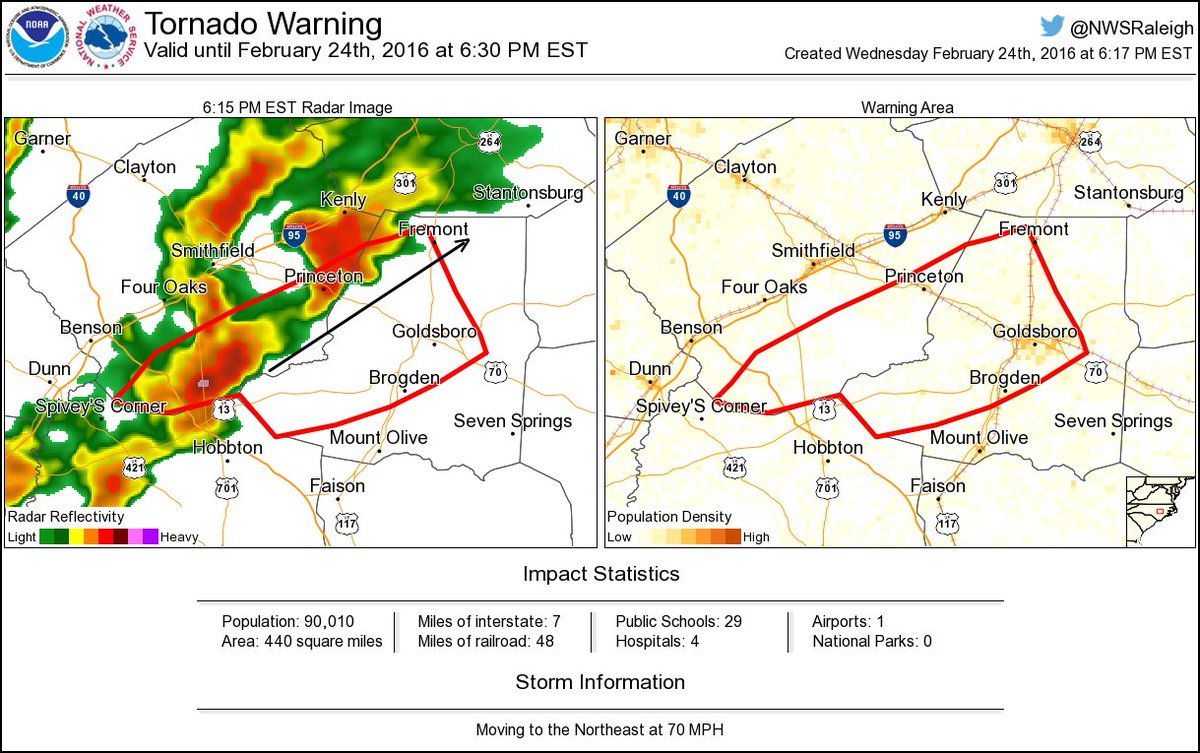 Princeton Nc Map.Tornado Warning Including Goldsboro Nc Brogden Nc Princeton