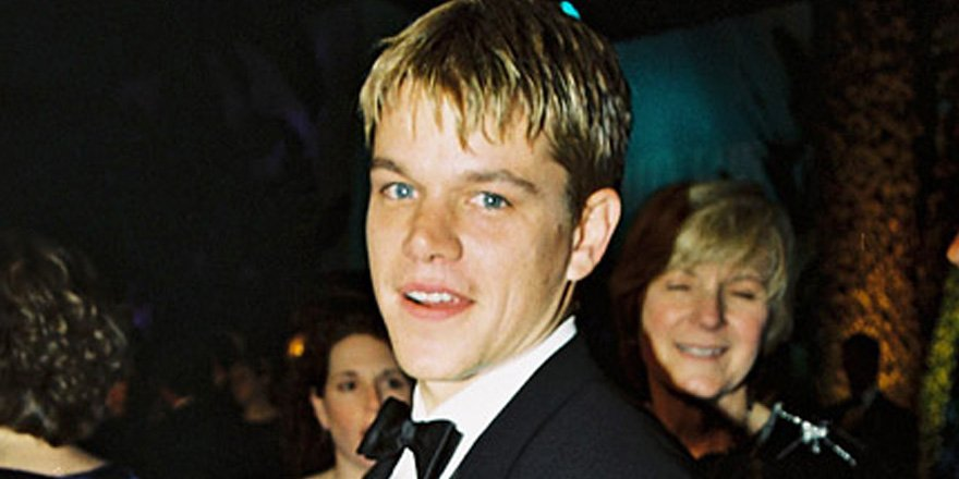 See Matt Damon bask in his very first #Oscars win (alongside Ben Affleck, of course)