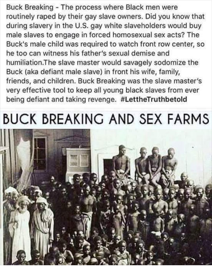 Sex reparations for black slavery