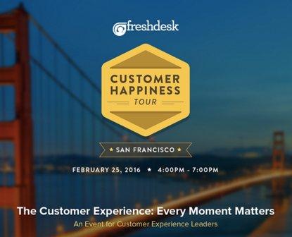Thumbnail for Customer Happiness Tour - San Francisco