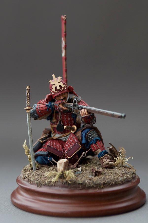 Unknown artist. #Samurai #Sniper