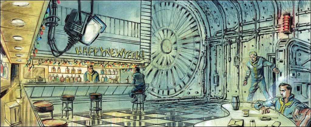 fallout 3 on twitter fallout 3 had some of the best concept art