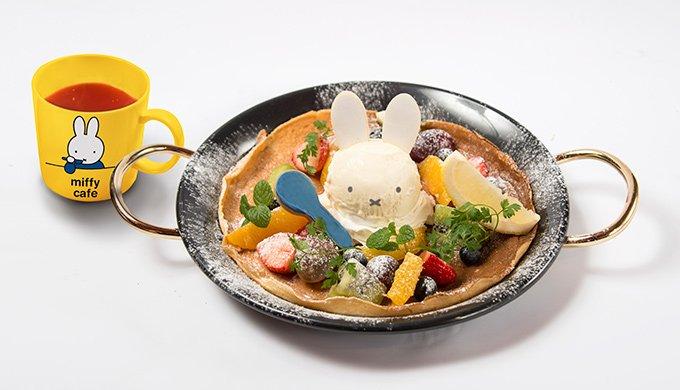 ミッフィー初のカフェ「ミッフィーカフェ」渋谷に登場 - パンケーキや綿菓子ソーダ fashion-press.net/news/22021 pic.twitter.com/8y71VLPBAT