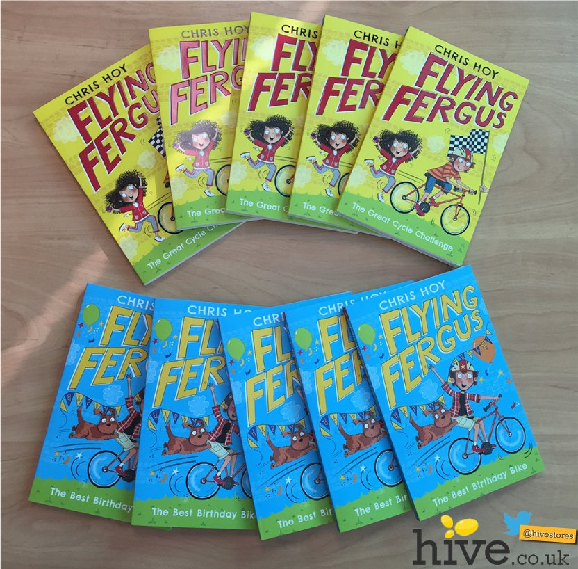#Win 1 of 5 sets of Flying Fergus books by @chrishoy! RT & follow to enter by 5pm this eve. GO! #giveaway https://t.co/kbrx4zwZCy