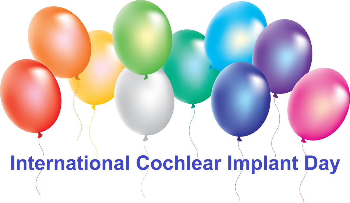 Happy International #CochlearImplantDay -keep sharing amazing stories #celebratecochlear @IWantToHear @EarFoundation https://t.co/DrmVEByhlm